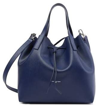 Lancaster Paris Pur Saffiano Leather Shoulder Bag