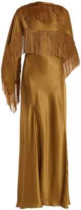 GABRIELA HEARST Marlene V-neck silk wrap dress