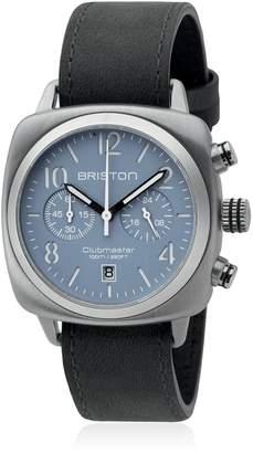 Briston Clubmaster Chrono Steel Watch