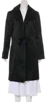 Nina Ricci Notched-Lapel Long Coat