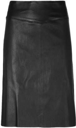 Joseph panelled fitted skirt