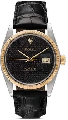 Rolex Lizzie Mandler Fine Jewelry Datejust 35mm
