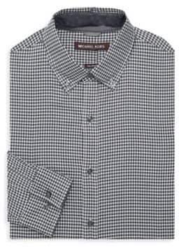 Michael Kors Checkered Dress Shirt