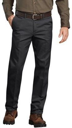 Dickies Genuine Men's Flat Front Comfort Waist Flex Pant
