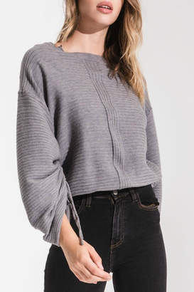 Rag Poets Statement Sleeve Sweater