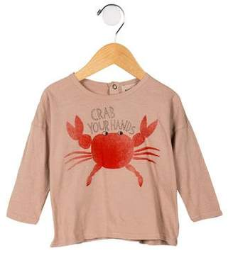 Bobo Choses Girls' Animal Print Top w/ Tags