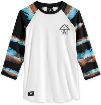 LRG Men's Feather Raglan-Sleeve T-Shirt $39 thestylecure.com