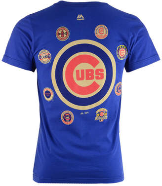 Majestic Men's Chicago Cubs Championship Run T-Shirt