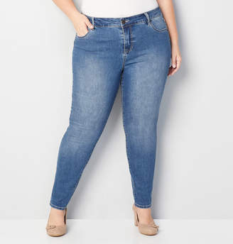 Avenue 1432 Skinny Jean in Medium Wash