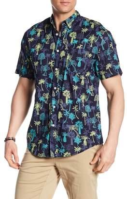 Trunks Surf and Swim CO. Palm Tree Print Shirt