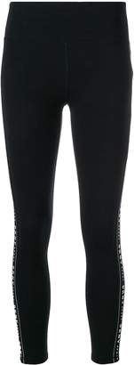 DKNY Fitness Leggings With Logo Taping
