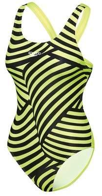 Speedo Girl's School Colours Leaderback Swimsuit
