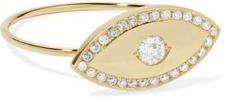Large Evil Eye 18-karat Gold Diamond Ring - 6 Jennifer Meyer Z5BMwTqvC