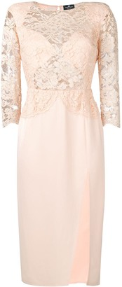 Elisabetta Franchi lace dress