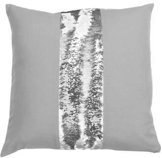 Mercer41 Zimmer Stripe Mermaid Reversible Sequin Throw Pillow