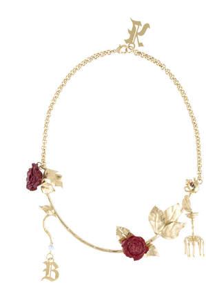Christopher Kane Chandelier necklace