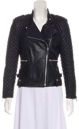 Barbara Bui Leather Moto Jacket