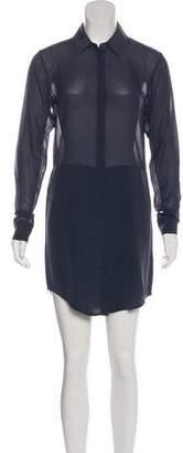 Alexander Wang Long Sleeve Shirt Dress