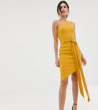 Bec & Bridge Exclusive Tie Asymmetric Dress