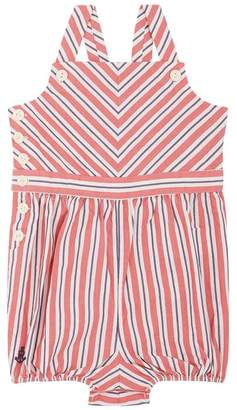 Polo Ralph Lauren Striped Dungaree Bodysuit