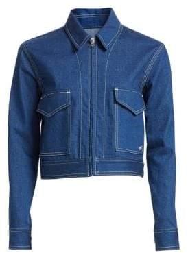 Rag & Bone Ajax Cropped Denim Jacket