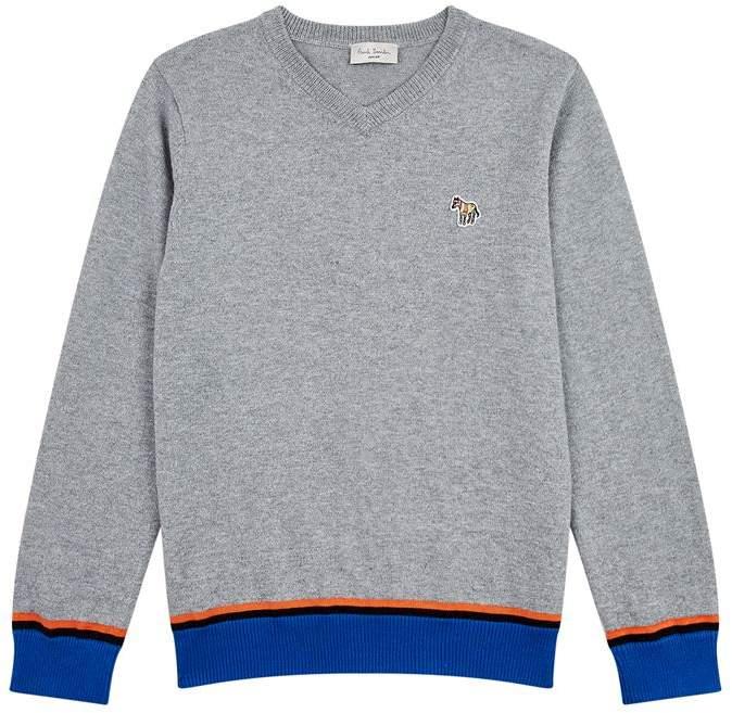 Rodrigo Contrast Hem Sweater