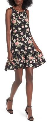 Women's Bp. Floral Ruffle Hem Dress $49 thestylecure.com
