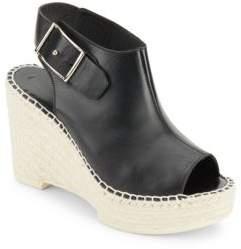 Peep Toe Espadrille Wedge Sandals $481 thestylecure.com