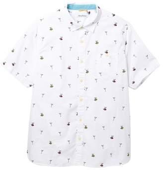 Tommy Bahama Mix Master Short Sleeve Print Shirt (Big & Tall)