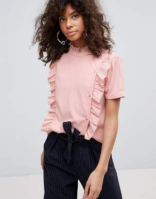 Minimum Ruffle Panel Top