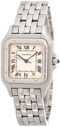 Cartier Panthere 1310 22mm Silver-Tone Watch - Vintage