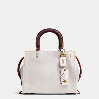 COACH Coach Rogue 25 In Glovetanned Pebble Leather $595 thestylecure.com