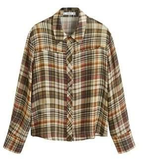 MANGO Check shirt