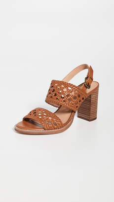 Madewell The Basket Weave High Heel Sandals