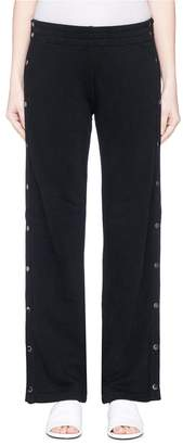 Vince 'Tear-Away' button outseam track pants