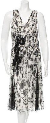 Derek Lam Silk Printed Dress $145 thestylecure.com