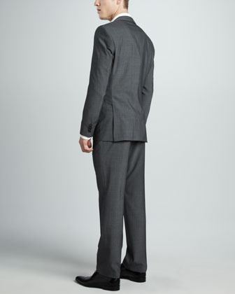 HUGO BOSS Graph-Check Two-Button Suit
