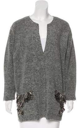 By Malene Birger Wool Embellished Sweater
