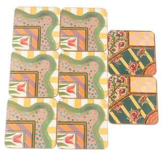 Mackenzie Childs MacKenzie-Childs Set of 8 Coasters