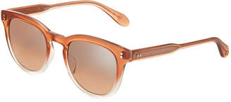 Garrett Leight Granada 48 Square Acetate Sunglasses