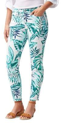 Tommy Bahama Mo'orea Monstera Skinny Ankle Jeans