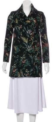 BA&SH Tweed Embroidered Coat