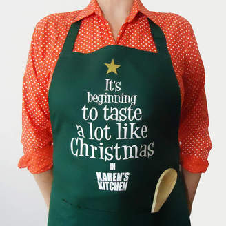 FROZEN FIRE Personalised Christmas Slogan Apron