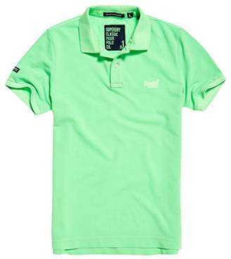 Superdry Men's Vintage Destroy Short Sleeve Pique Polo Shirt