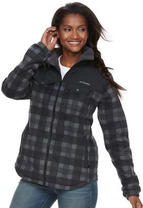 Columbia Women's Three Lakes Plaid Fleece Jacket