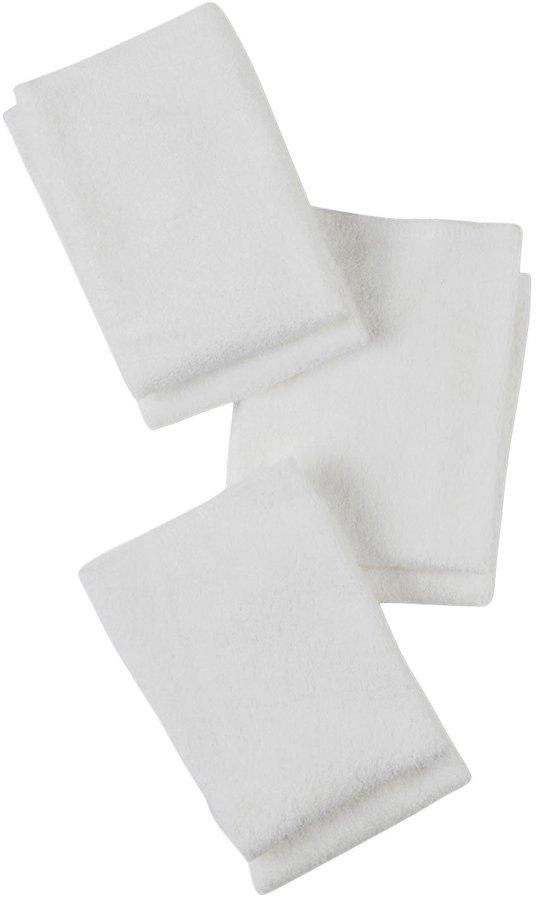 Gerber 6PK White Washcloth - White-One Size