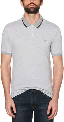 Original Penguin TIPPED BIRDSEYE POLO