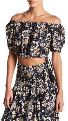 Tiare Hawaii Lover Off-the-Shoulder Blouse