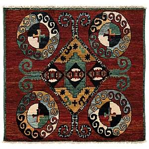 Kaitag Collection Oriental Rug, 5' x 5'5