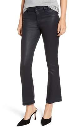 DL1961 Lara Instasculpt Coated Crop Jeans